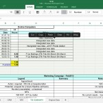 Office for iPad - Excel Screenshot
